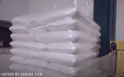 Automatic Shrink Pallet Wrapping